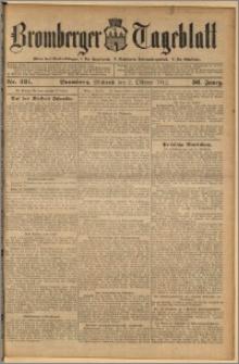 Bromberger Tageblatt. J. 36, 1912, nr 231