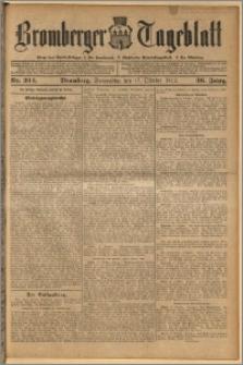 Bromberger Tageblatt. J. 36, 1912, nr 244
