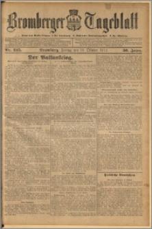 Bromberger Tageblatt. J. 36, 1912, nr 245