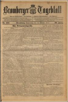 Bromberger Tageblatt. J. 36, 1912, nr 250