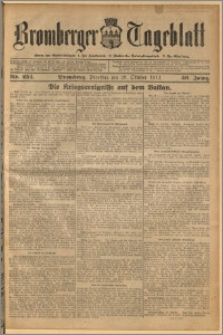 Bromberger Tageblatt. J. 36, 1912, nr 254