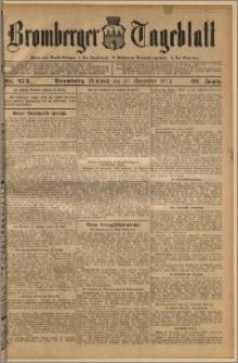 Bromberger Tageblatt. J. 36, 1912, nr 273