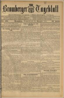 Bromberger Tageblatt. J. 36, 1912, nr 281