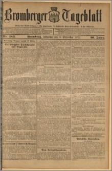 Bromberger Tageblatt. J. 36, 1912, nr 283