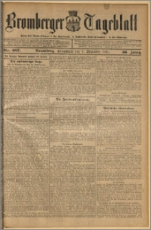 Bromberger Tageblatt. J. 36, 1912, nr 287