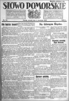 Słowo Pomorskie 1921.04.05 R.1 nr 76