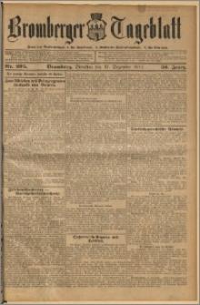 Bromberger Tageblatt. J. 36, 1912, nr 295