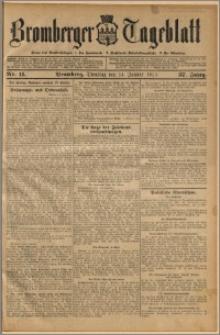 Bromberger Tageblatt. J. 37, 1913, nr 11