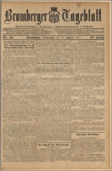 Bromberger Tageblatt. J. 37, 1913, nr 25