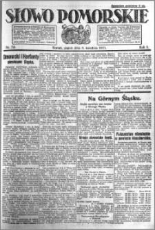 Słowo Pomorskie 1921.04.08 R.1 nr 79