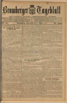 Bromberger Tageblatt. J. 37, 1913, nr 57