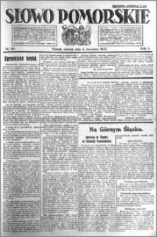 Słowo Pomorskie 1921.04.09 R.1 nr 80