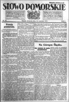 Słowo Pomorskie 1921.04.10 R.1 nr 81
