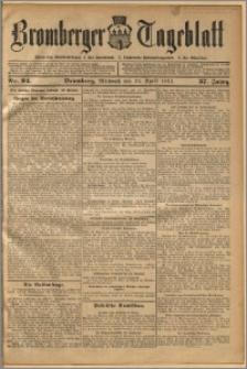 Bromberger Tageblatt. J. 37, 1913, nr 94