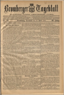 Bromberger Tageblatt. J. 37, 1913, nr 97