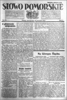 Słowo Pomorskie 1921.04.12 R.1 nr 82