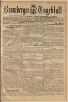 Bromberger Tageblatt. J. 37, 1913, nr 140
