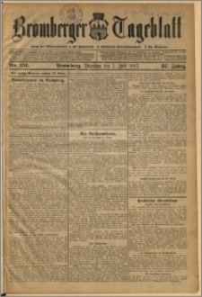 Bromberger Tageblatt. J. 37, 1913, nr 151