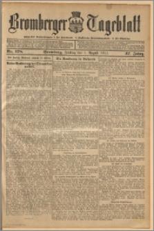 Bromberger Tageblatt. J. 37, 1913, nr 178