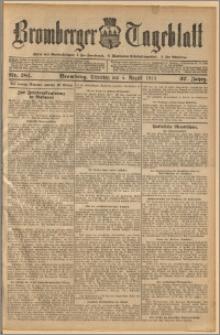 Bromberger Tageblatt. J. 37, 1913, nr 181