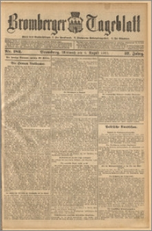Bromberger Tageblatt. J. 37, 1913, nr 182