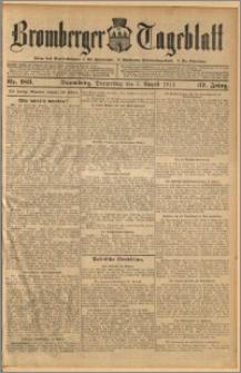 Bromberger Tageblatt. J. 37, 1913, nr 183