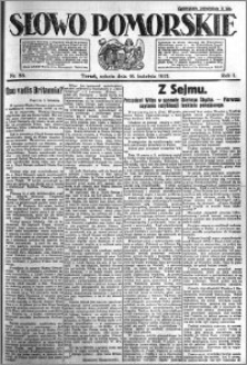 Słowo Pomorskie 1921.04.16 R.1 nr 86