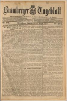 Bromberger Tageblatt. J. 37, 1913, nr 187