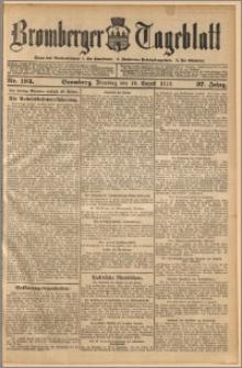 Bromberger Tageblatt. J. 37, 1913, nr 193