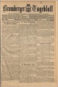 Bromberger Tageblatt. J. 37, 1913, nr 195