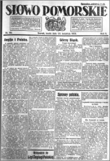 Słowo Pomorskie 1921.04.20 R.1 nr 89
