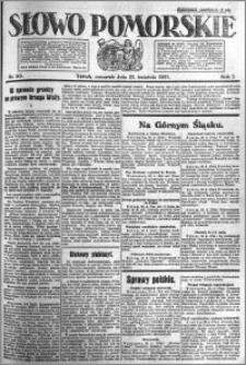 Słowo Pomorskie 1921.04.21 R.1 nr 90