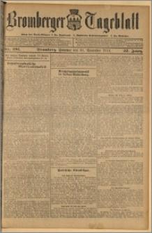 Bromberger Tageblatt. J. 37, 1913, nr 281