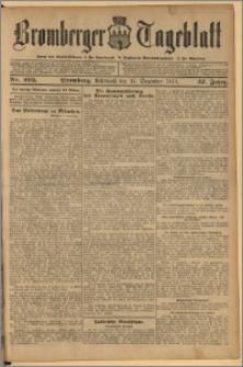 Bromberger Tageblatt. J. 37, 1913, nr 295