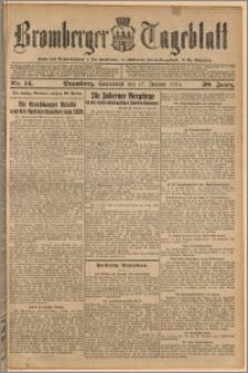 Bromberger Tageblatt. J. 38, 1914, nr 14
