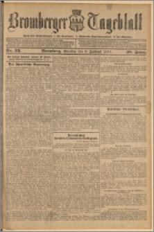 Bromberger Tageblatt. J. 38, 1914, nr 33