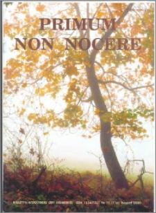 Primum Non Nocere 2000 nr 11