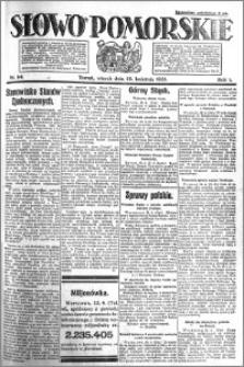 Słowo Pomorskie 1921.04.26 R.1 nr 94