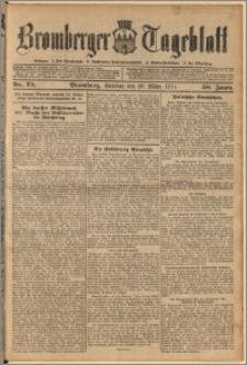 Bromberger Tageblatt. J. 38, 1914, nr 75