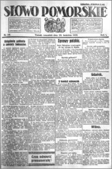 Słowo Pomorskie 1921.04.28 R.1 nr 96