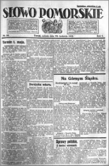 Słowo Pomorskie 1921.04.30 R.1 nr 98