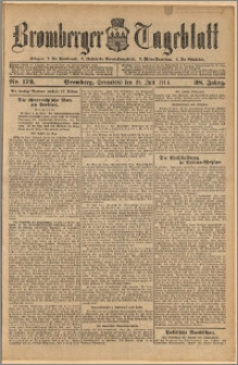 Bromberger Tageblatt. J. 38, 1914, nr 172