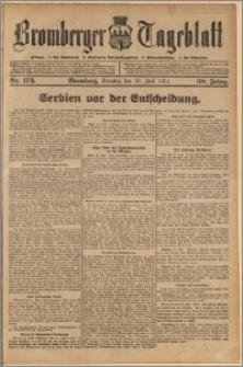 Bromberger Tageblatt. J. 38, 1914, nr 173