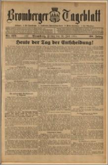 Bromberger Tageblatt. J. 38, 1914, nr 177