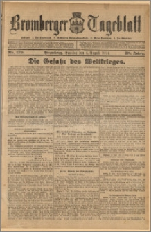 Bromberger Tageblatt. J. 38, 1914, nr 179