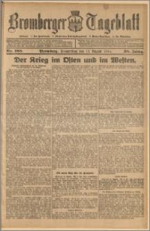 Bromberger Tageblatt. J. 38, 1914, nr 188