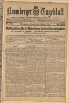 Bromberger Tageblatt. J. 38, 1914, nr 263