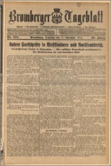 Bromberger Tageblatt. J. 38, 1914, nr 270