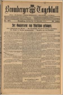 Bromberger Tageblatt. J. 38, 1914, nr 272