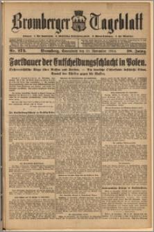 Bromberger Tageblatt. J. 38, 1914, nr 273